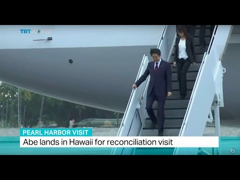 Pearl Harbor Visit: Japanese Prime Minister Abe arrives in Hawaii