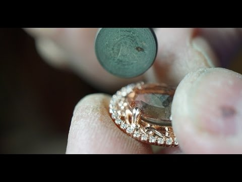 A Morganite Pendant from Custom Design to Finished Piece