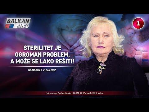 INTERVJU: Božidarka Vidaković - Sterilitet je ogroman problem, a može se lako rešiti! (20.3.2019)