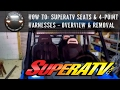 RZR How To - SuperATV Seats and Harnesses Part 1