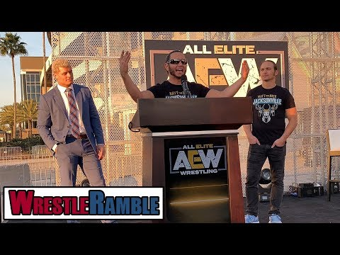 AEW All Elite Wrestling Vs. WWE?! | WrestleTalk's WrestleRam