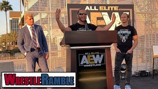 AEW All Elite Wrestling Vs. WWE?! | WrestleTalk's WrestleRamble