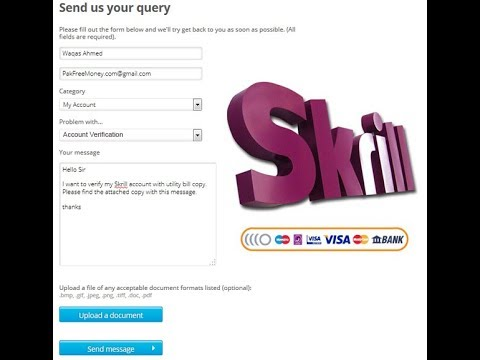 How To Add Bank Account Your Skrill And