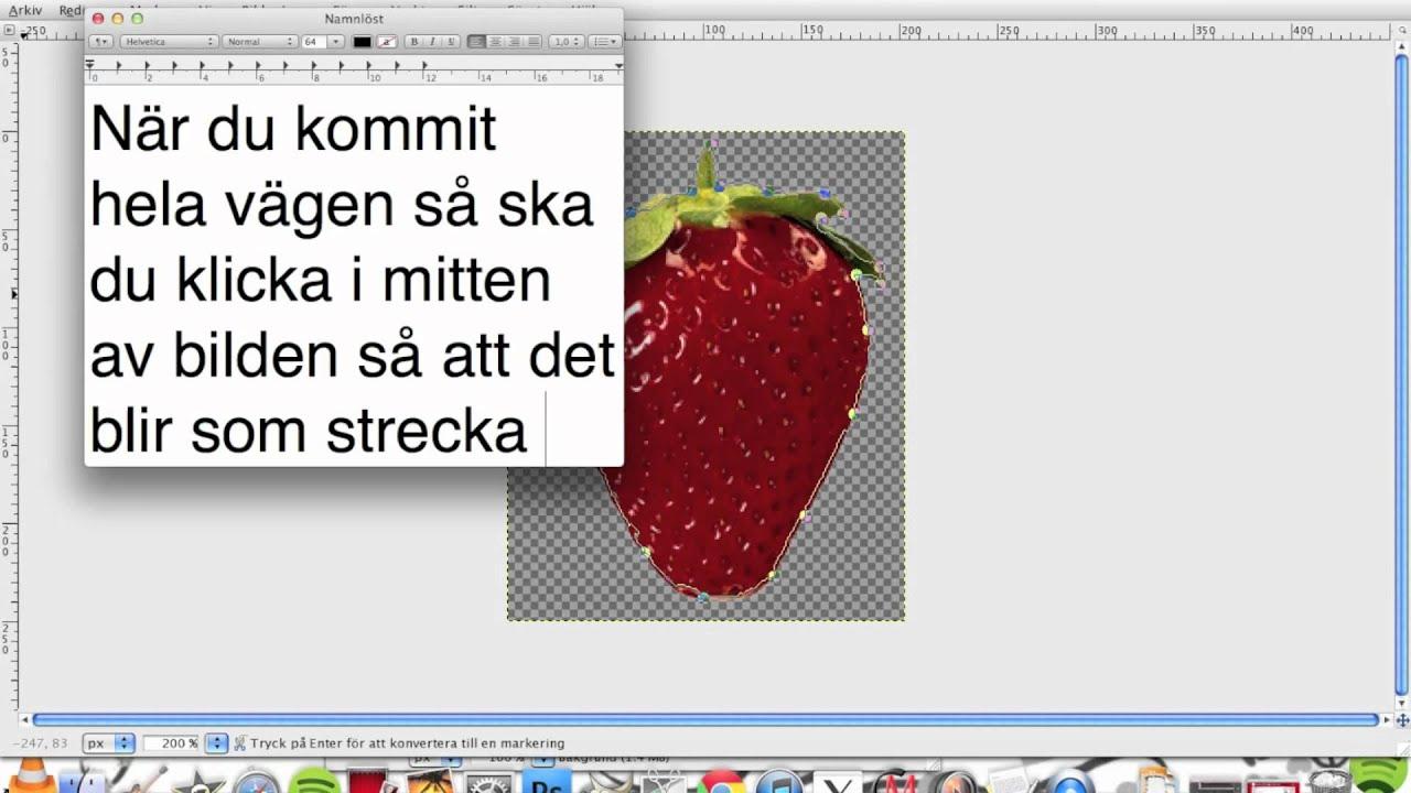 Hur Man Klipper Ut Bilder I Gimp!