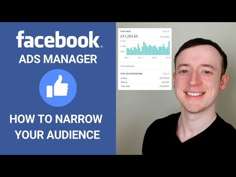 How to Narrow Your Audience to Increase Conversions | Facebook Ads