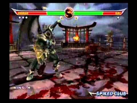 Mortal Kombat Armageddon - Onaga - 1/2 - YouTube