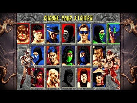 Mortal Kombat 2 UNLIMITED By Smoke + FULL ROM LINK