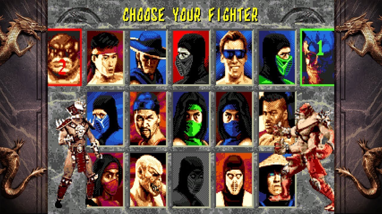 Mortal Kombat 2 UNLIMITED by Smoke + FULL ROM LINK
