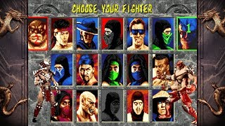 Mortal Kombat 2 UNLIMITED By Smoke FULL ROM LINK