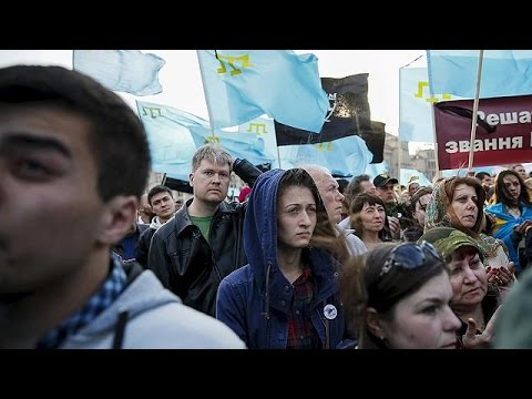Crimea Tatars remember WW2 deportation victims