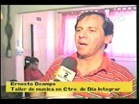 Ernesto Ocampo - taller de musica en centro de dia...