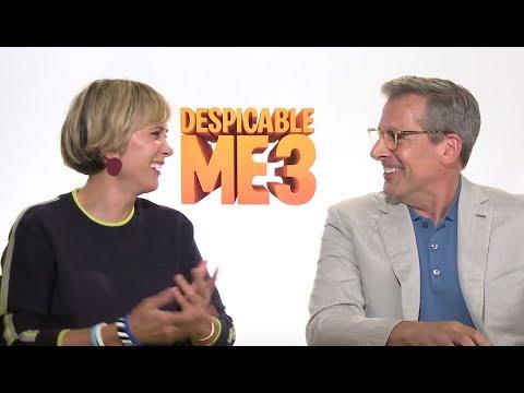 Steve Carell & Kristen Wiig Share Their Hilarious 'Despicable Me 3' Texan Accents