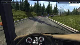 Let's Play Euro Truck Spezial LKW Rangier Simulator Part#002