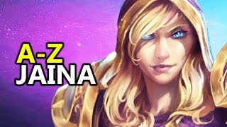 A - Z Jaina - Heroes of the Storm HotS Gameplay