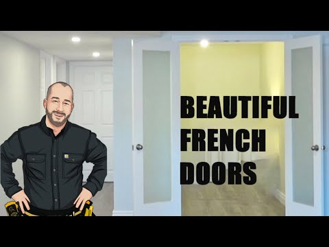 How To Install A French Door