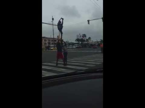 Talento en Las calles de Guayaquil!