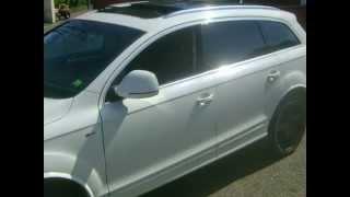 Audi Q7 S-line facelift 2008 blanc Thumbnail