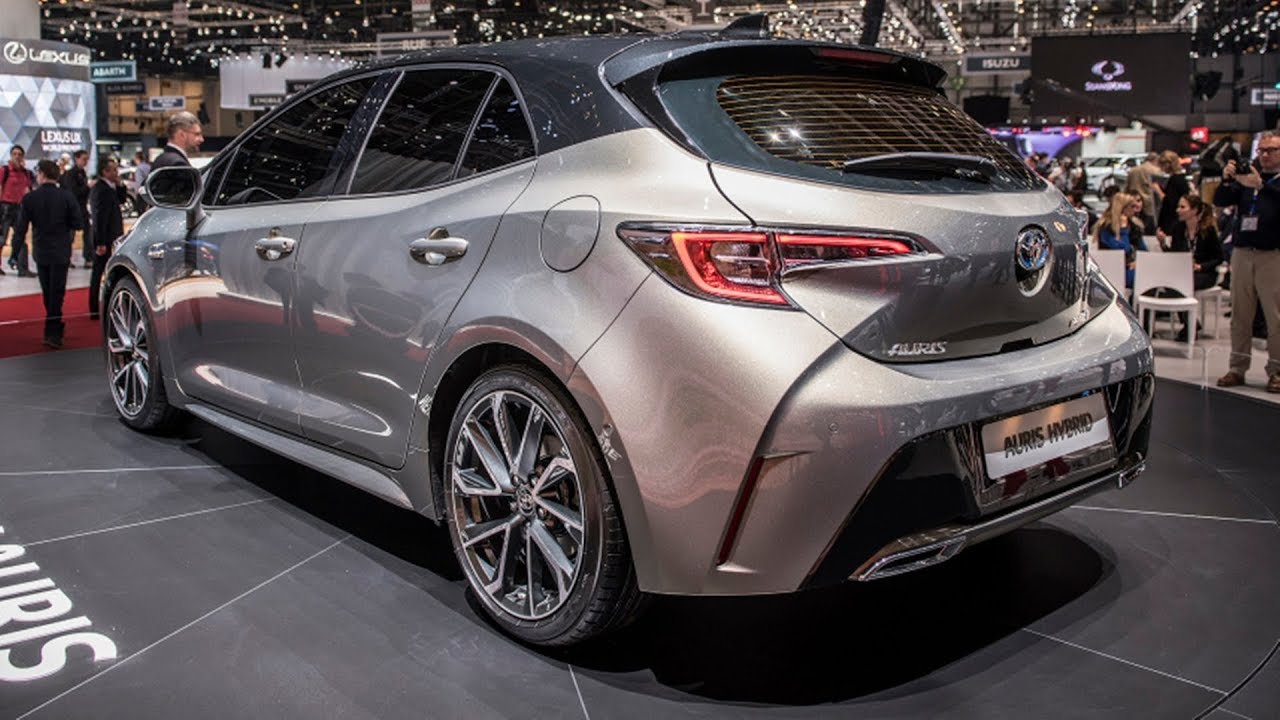 2019 Toyota Auris Reveal Youtube
