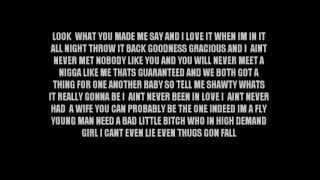 Ace Hood ft Kevin Cossom - Thugs Fall (Lyrics)