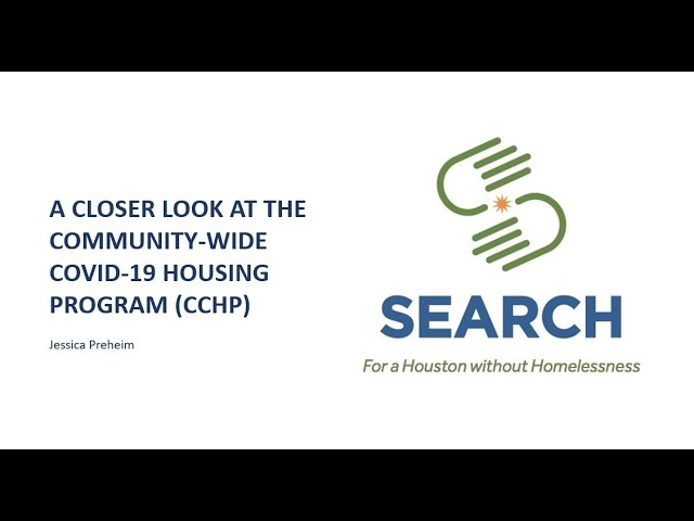 A closer look at the Community COVID Housing Program (CCHP)