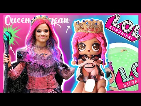 Queen of mean Descendants 3 Custom LOL Surprise Dolls - Sarah Jeffery/ Audry