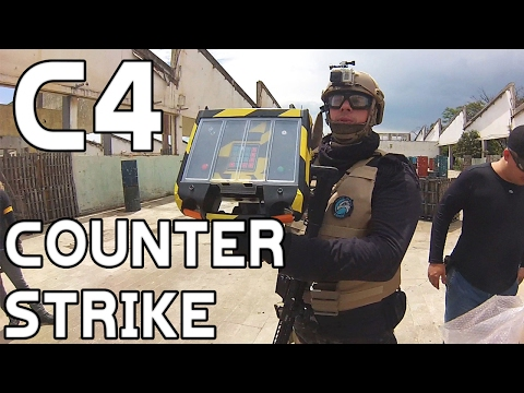 CS:GO - Bomba C4 - SCOPE CAM | AIRSOFT GAMEPLAY | SILVER HAWKS AIRSOFT