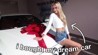 buying my DREAM car..