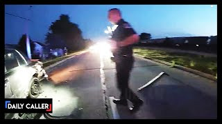 BODYCAM: Officer Rear-Ended During Traffic Stop