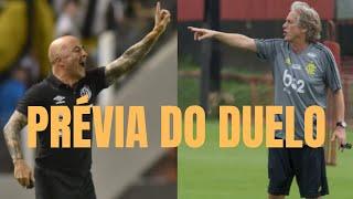 Duelo Flamengo x Santos, Jesus x Sampaoli se aproxima. Veja números dos estrangeiros no Brasileirão