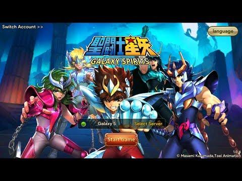 Rilis nih - SAINT SEIYA GALAXY SPIRITS Android Gameplay RPG - 동영상