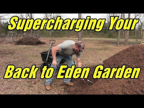 Back To Eden Garden Supercharging Your Garden Youtube