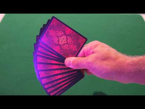 Bicycle - Natural Disasters Playing Cards - Volcano