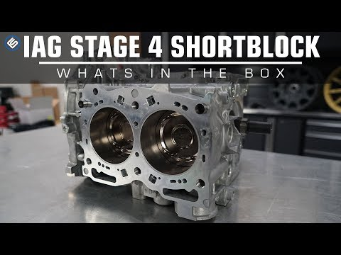 IAG Stage 4 Extreme Short Block - What's In The Box
