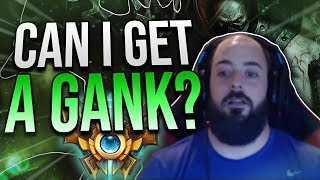 SoloRenektonOnly - [DAY 56 PT2] WHAT DO I HAVE TO DO TO GET A GANK?!?