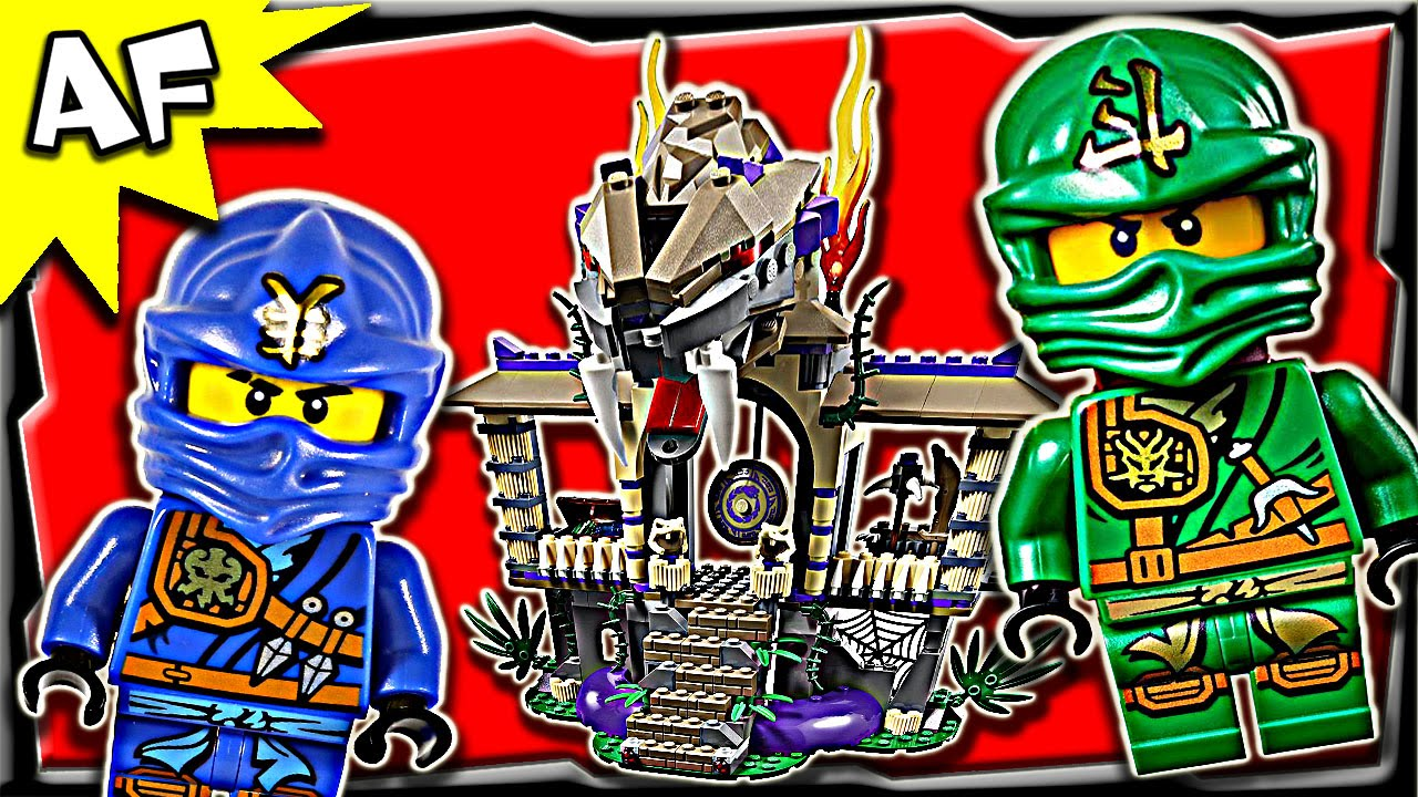 Lego Ninjago Enter The Serpent 70749 Anacondrai Jungle
