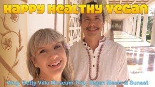 Vlog: 10 Year Anniversay & Getty Villa Museum