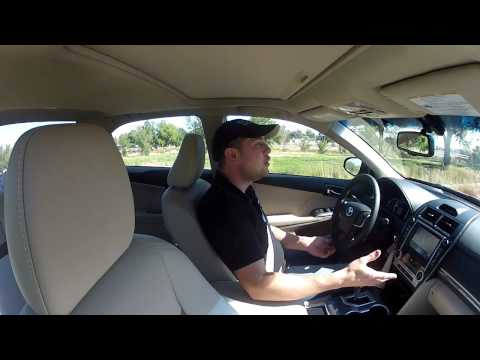 Real Videos: 2013 Toyota Camry Hybrid - Luxury with Green