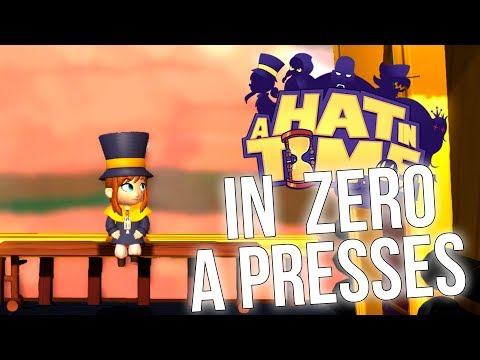 A HAT IN TIME TRAIN RUSH IN 0 A PRESSES WITHOUT DAMAGE BOOSTING!