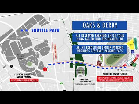 2018 Kentucky Derby Parking Changes