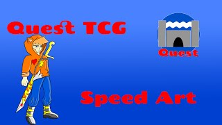 Quest TCG:  Loyal Leo Speed Art