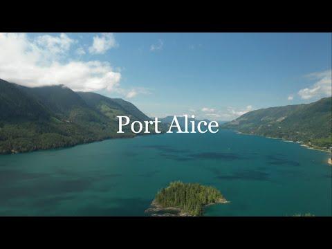 Vancouver Island Port Alice | Drone 4k