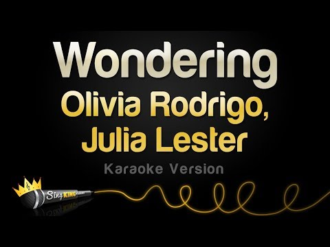 Olivia Rodrigo, Julia Lester - Wondering (Ashlyn & Nini Piano Version   HSMTMTS) (Karaoke Version)