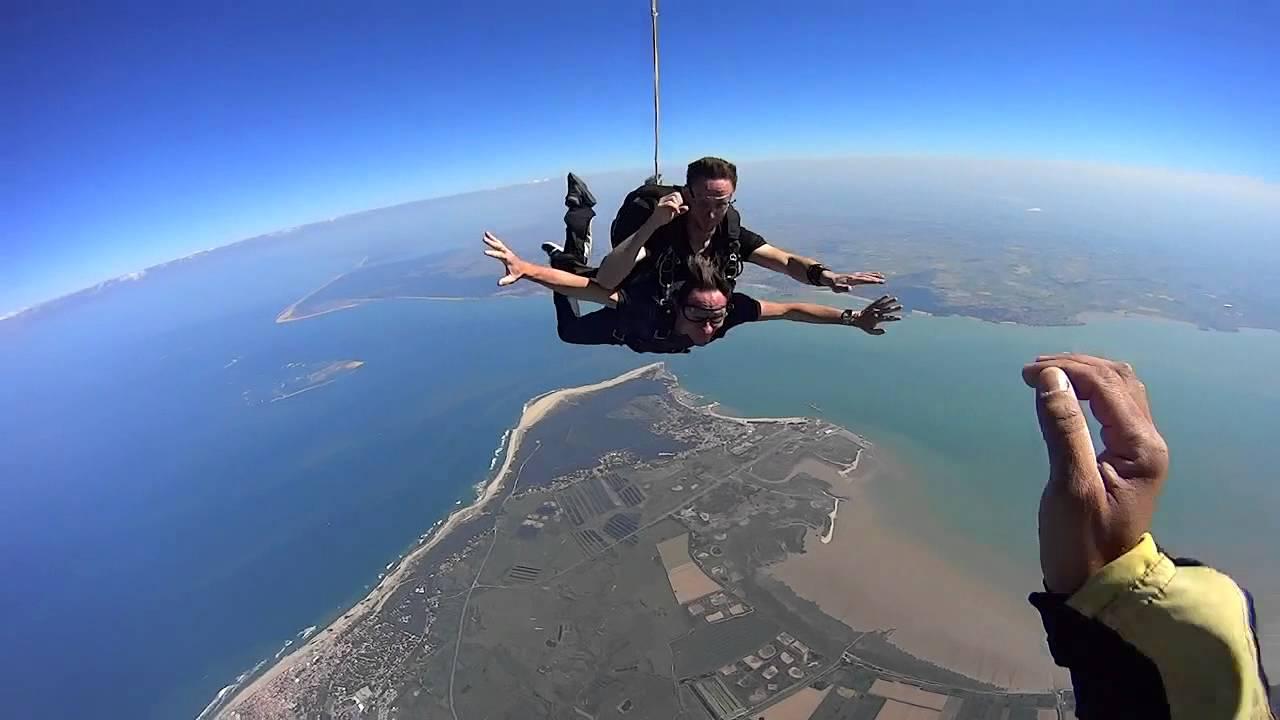 parachutisme soulac sur mer