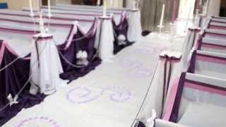 Victoria оформление свадьбы в Красноярске, выездной регистрации