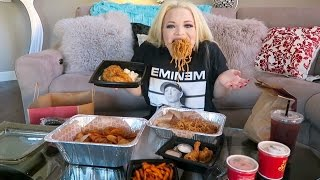 Repeat youtube video SOUTHERN BBQ EATING SHOW (MUKBANG) | WATCH ME EAT
