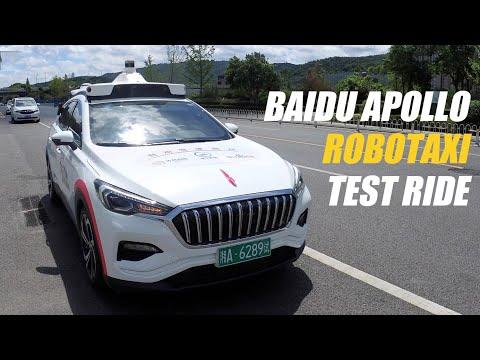 Baidu Apollo Robotaxi Test Ride