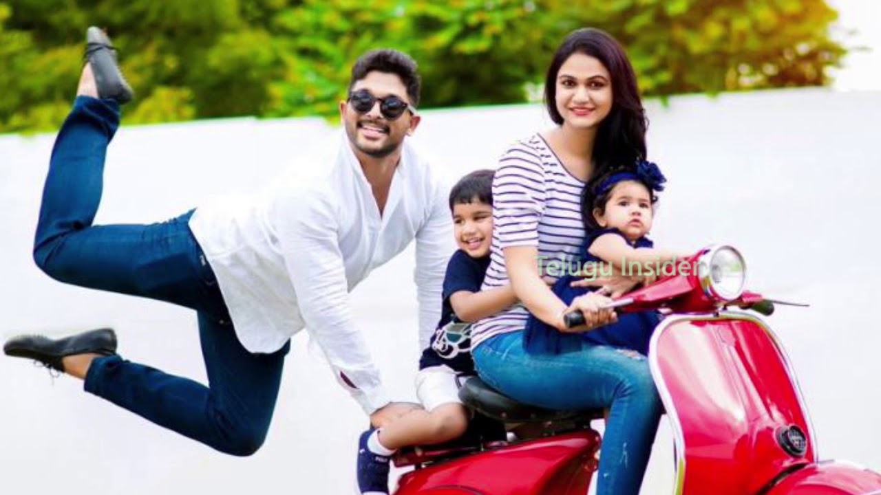 allu arjun family latest