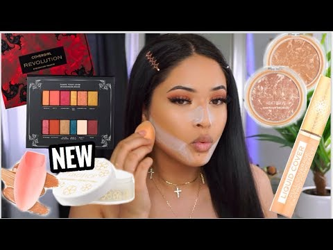 TESTING NEW SPRING DRUGSTORE MAKEUP | FULL FACE OF FIRST IMPRESSIONS |Taisha