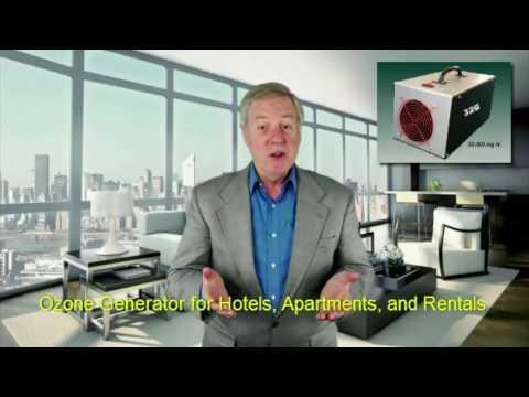 Ozone Generators for Hotels - YouTube