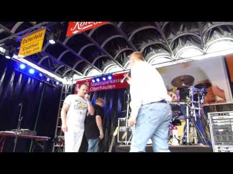Stadtfest Oberhausen Osterfeld 2016 Karaoke Show - Jörg Franke   Aber bitte mit Sahne